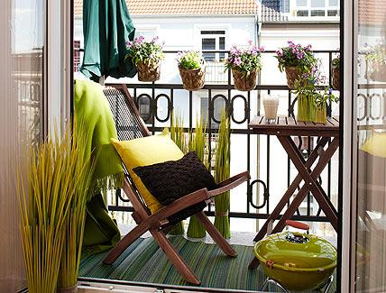 decoracion balcon