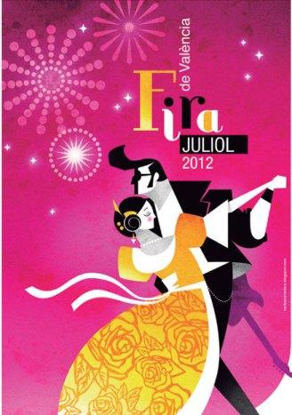 Conciertos en Viveros de la Feria de Julio 2012 Valencia