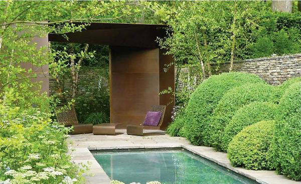 Ideas para jardines y decoraci n - Decoracion de jardines con piscina ...