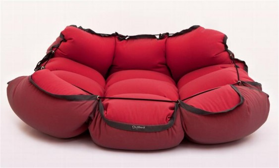 cama roja