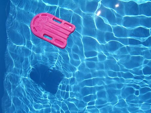 piscina flotador
