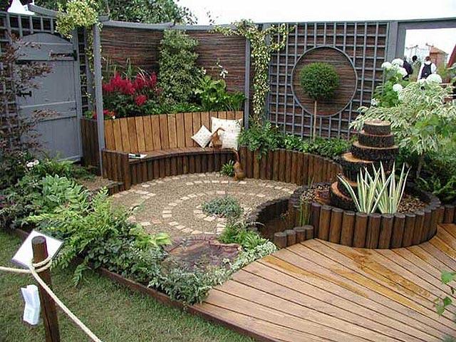 adornos para jardines peque os ideas para jardines y