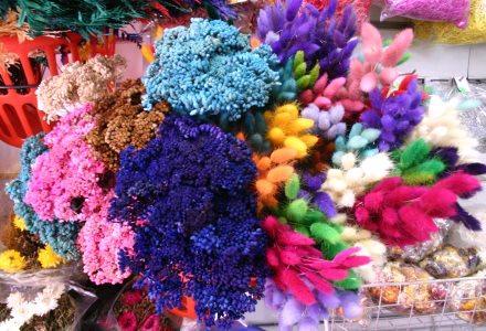 C mo decorar con flores secas ideas para jardines y - Flores secas para decorar ...