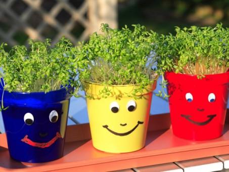 Macetas infantiles - Ideas para jardines y decoración