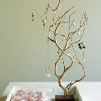 organizador con ramas
