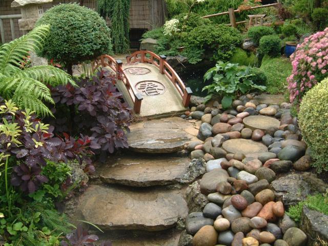Jardín miniatura japonés