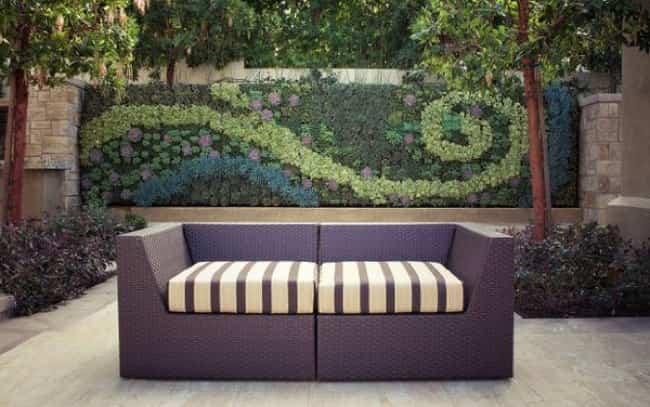 Murales jardines