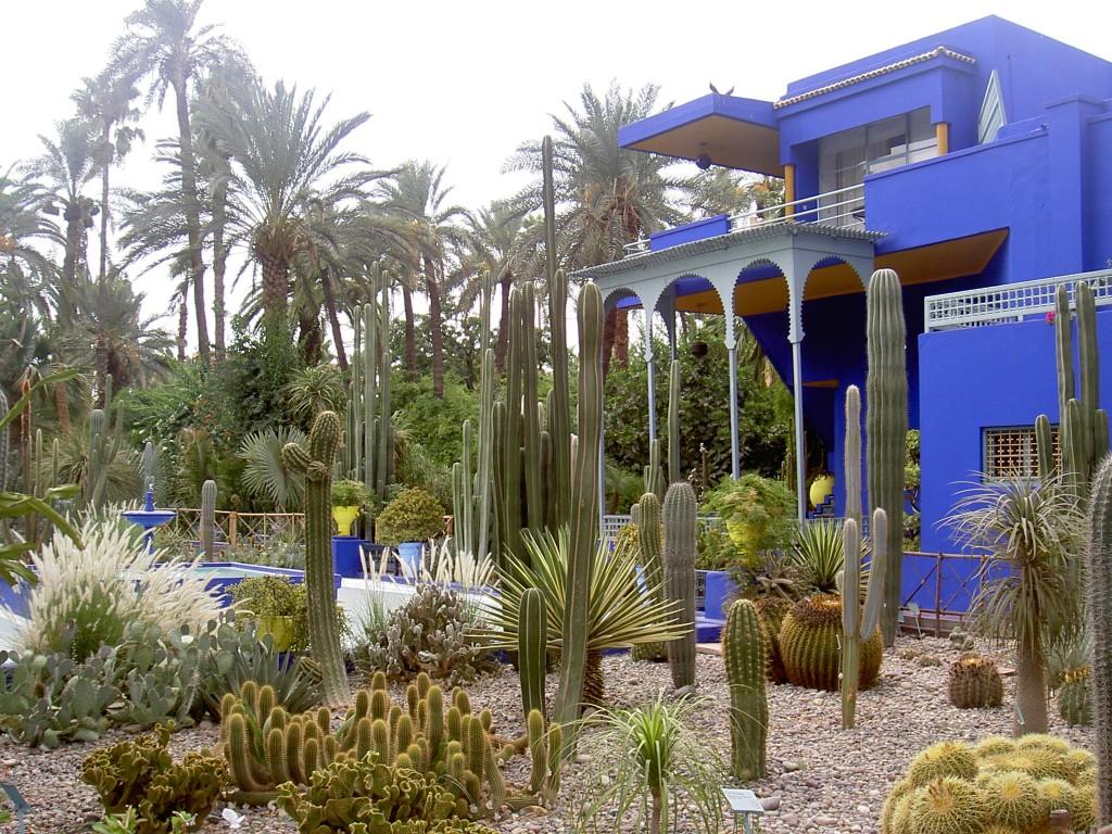 jardín Majorelle de Marrakech