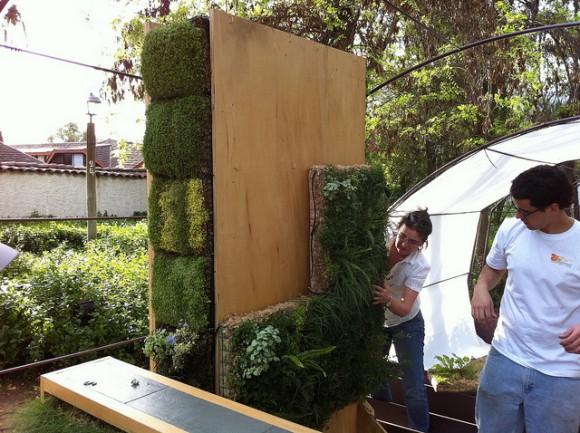 Beneficios del jard n vertical decoracion for Jardines verticales beneficios