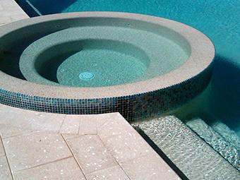 suelo de piscina