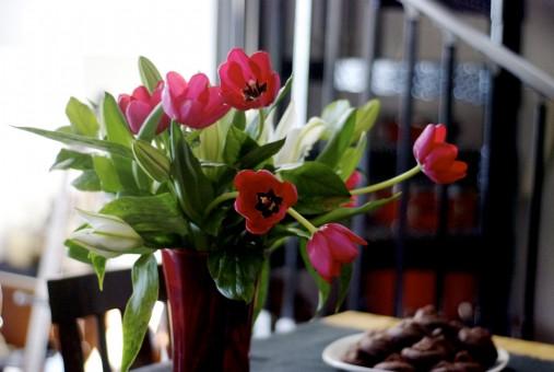 aromatizar con flores