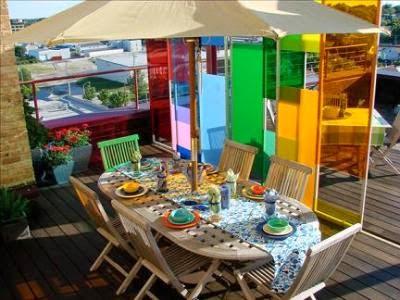 terraza colores fluor