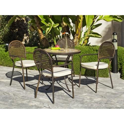 Muebles de jardín - set de mesa y sillas - 3