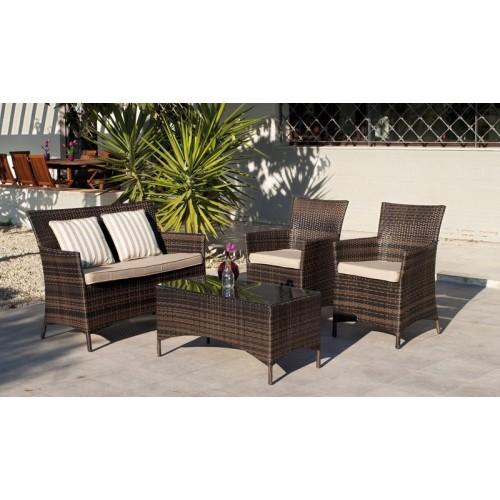 Muebles de jardín - set de mesa y sillas - 5