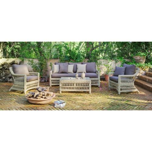Muebles de jardín - set de mesa y sillas - 6