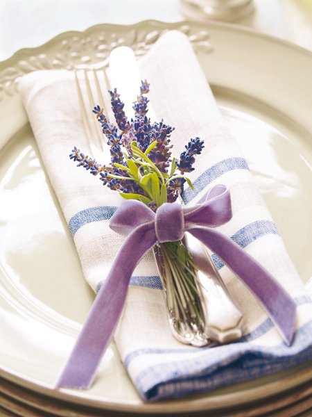 decorar con lavanda