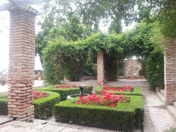 Diseño árabe para jardín
