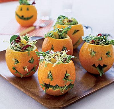decorar con naranjas