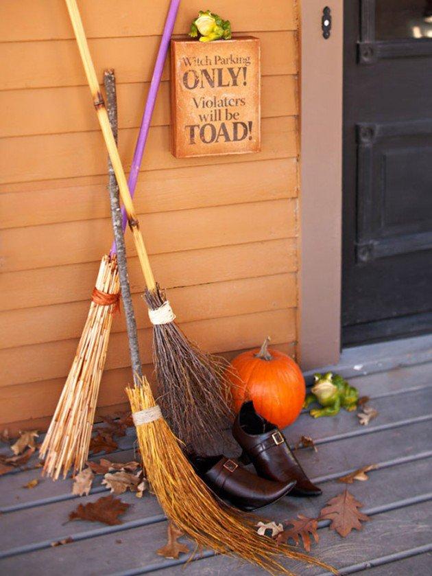 Decorar la entrada de casa para halloween 2