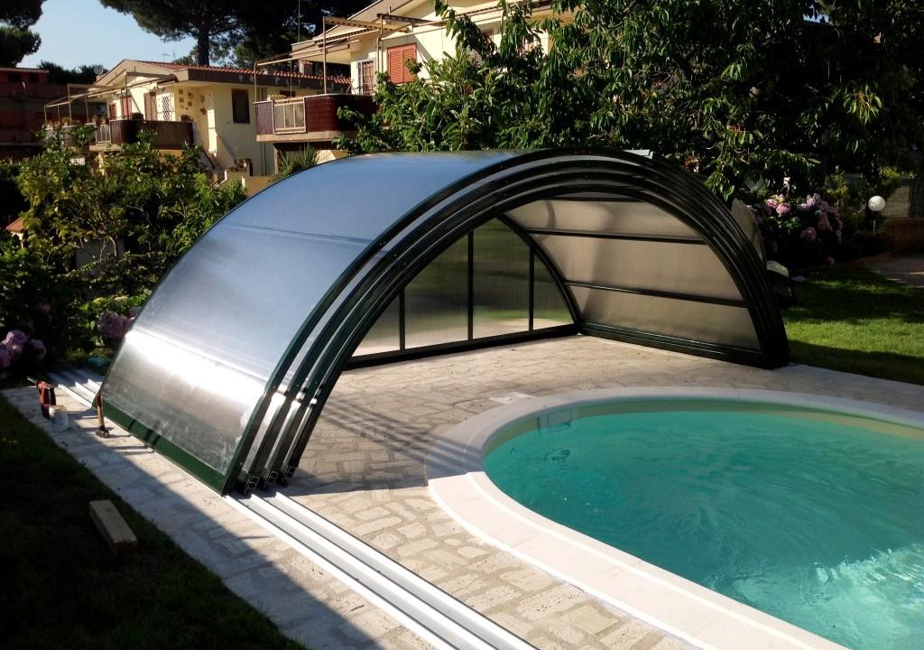 Cubierta para piscina desmontable de Abrisol