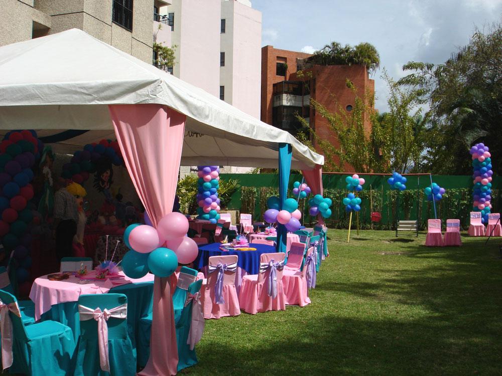 Decoración Con Globos Ideal Para Fiestas Infantiles