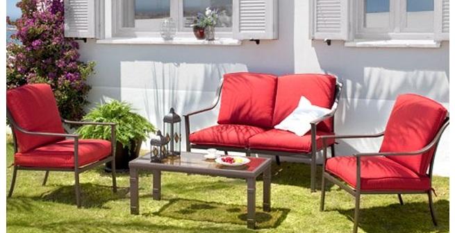 Muebles de jardín cuidados invierno
