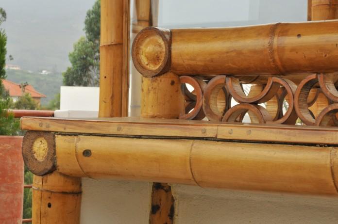 Cuidado para los muebles de bambú