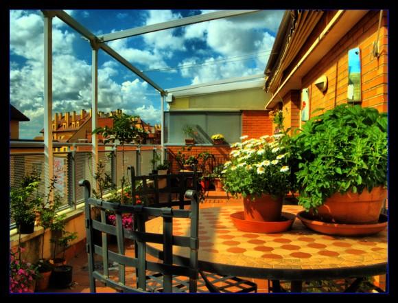 Una bonita terraza