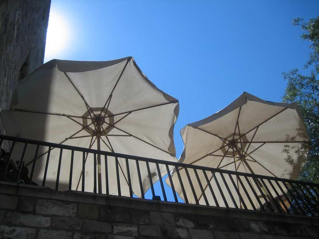 Elección de parasoles