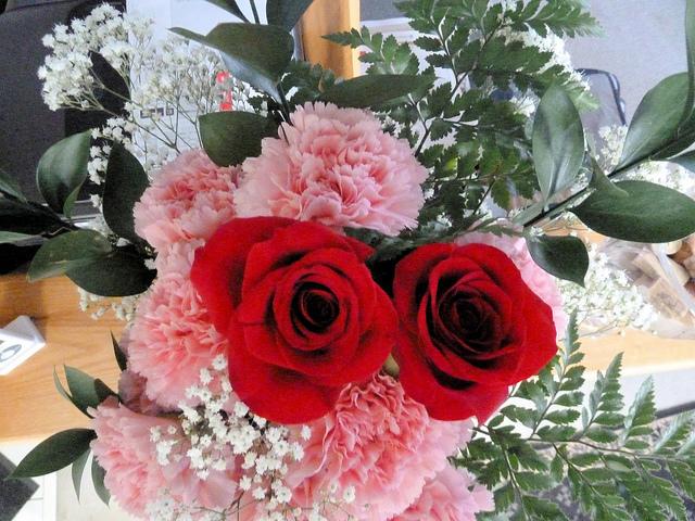 Flores de San Valentín
