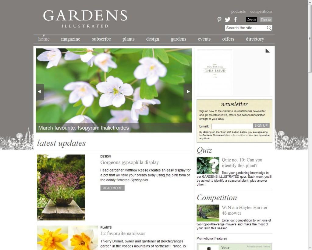 Revistas de jardinería