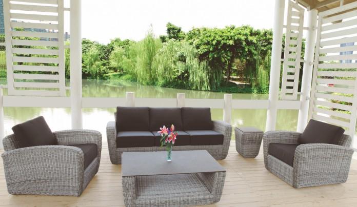 muebles de jardin ambienteterrazaexteriormarron