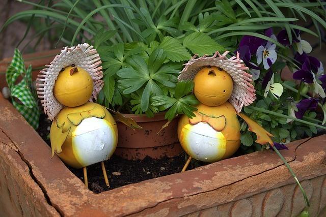 Ahorrar en la decoración de jardines 2