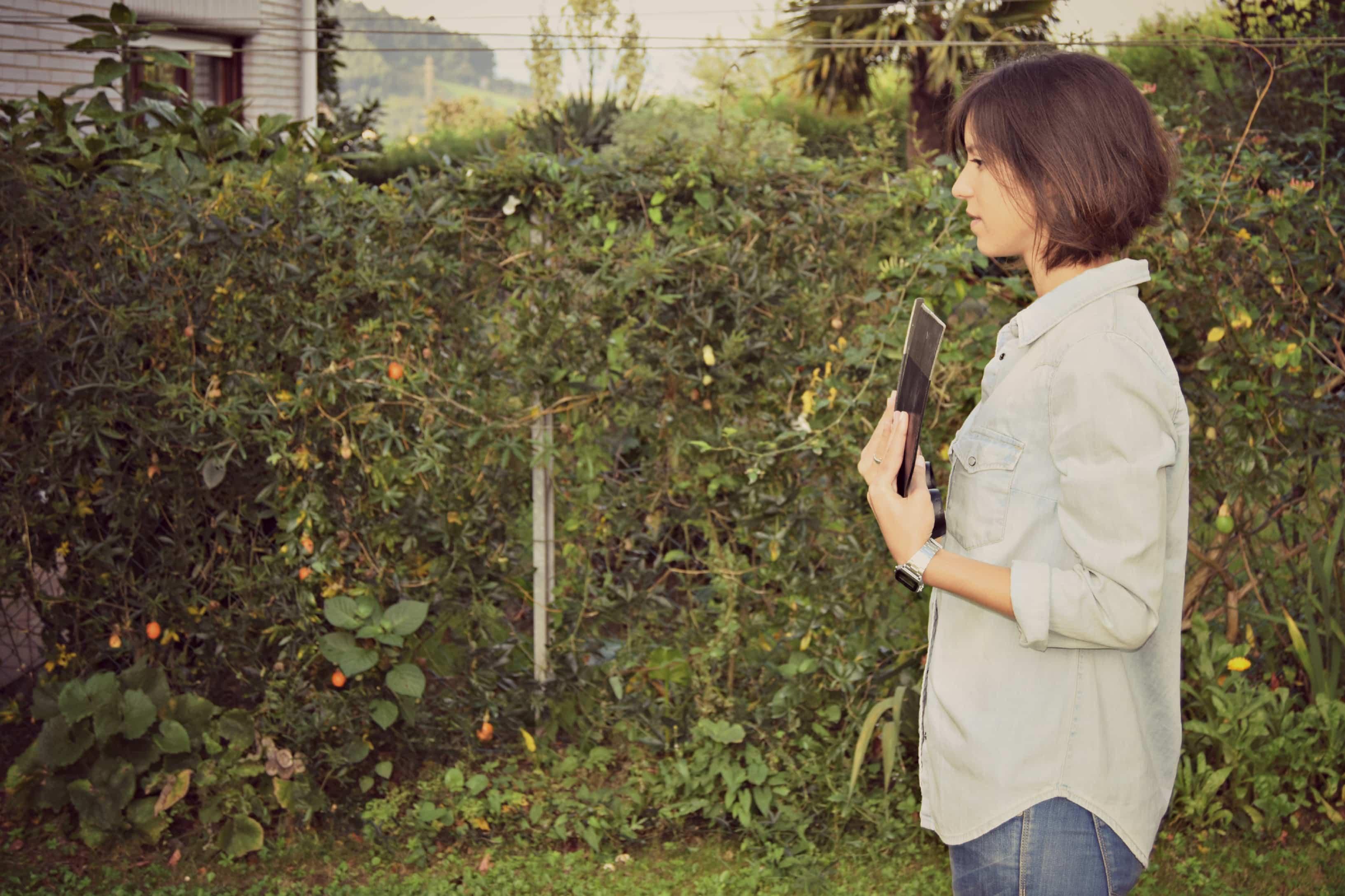 hacer pesas con azada de Bellota 1 - herramientas de jardineria