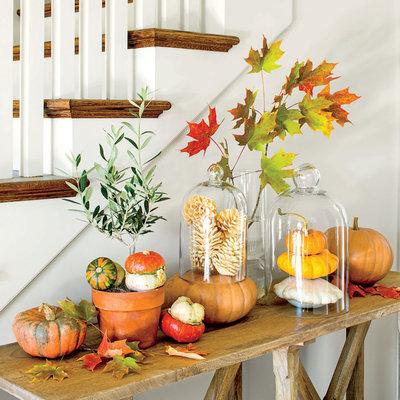 Decorar un jardín en otoño