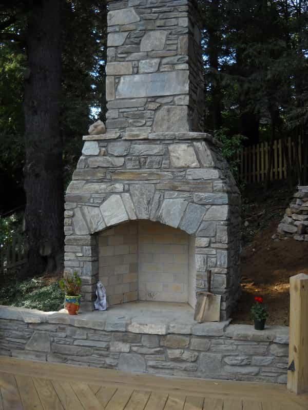 Como construir una chimenea para el exterior