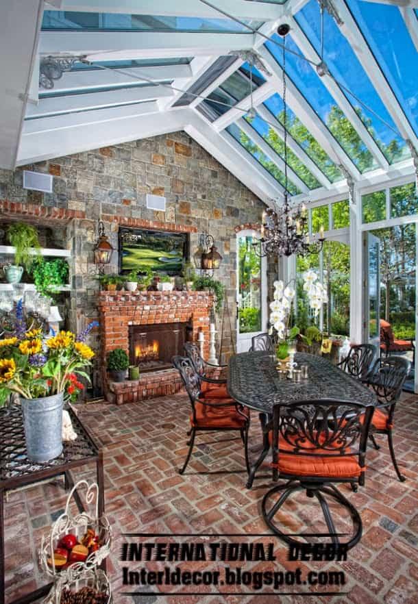 Ideas para decorar el jardín de invierno