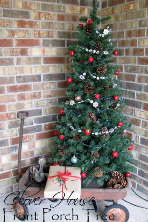 Decorar tu jardín para Navidad