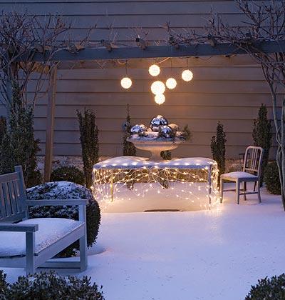 Ideas para una decoración en invierno