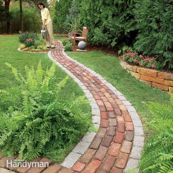 Caminos para el jardín muy originales