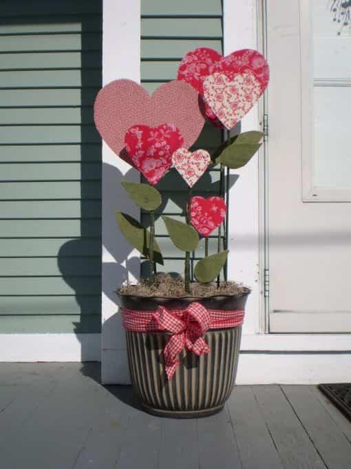 Cómo decorar el jardín en San Valentín