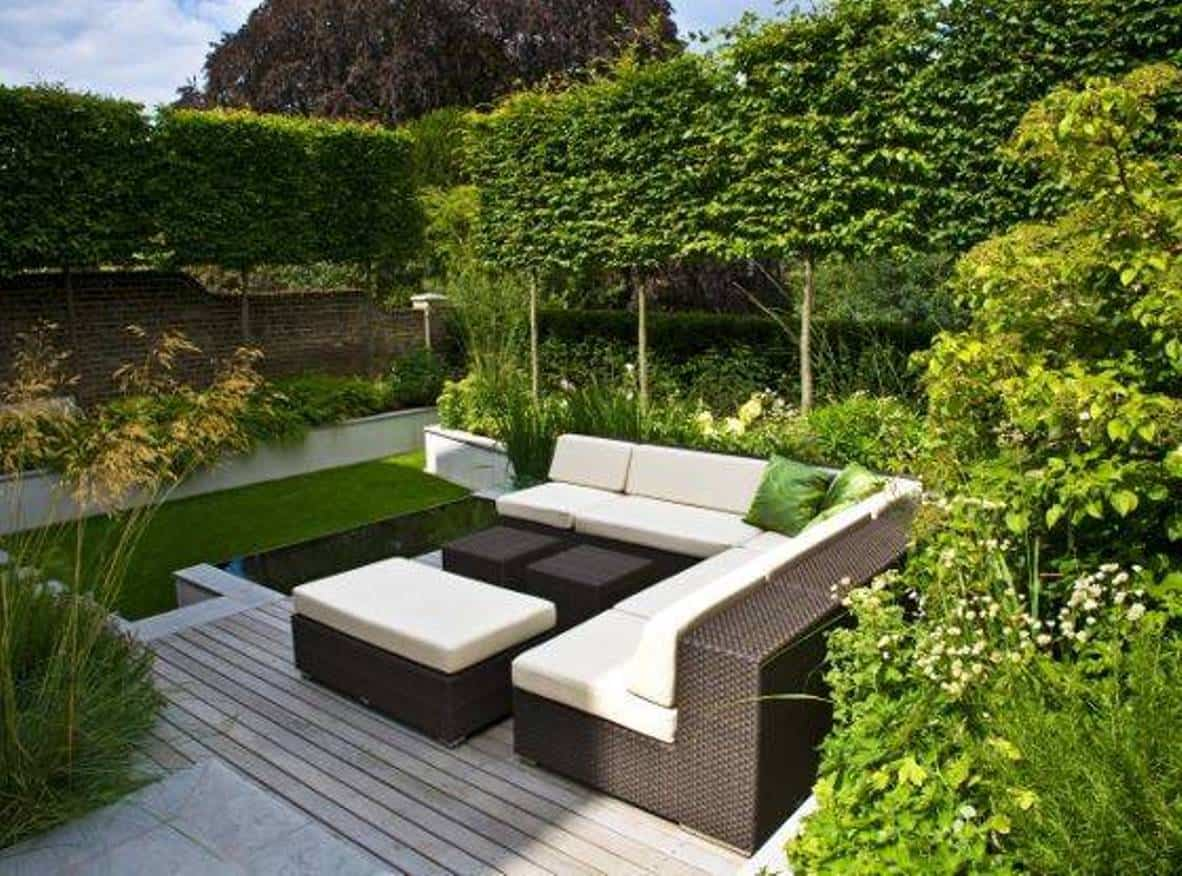 10 claves para la decoraci n de jardines modernos for Modern garden design for small spaces