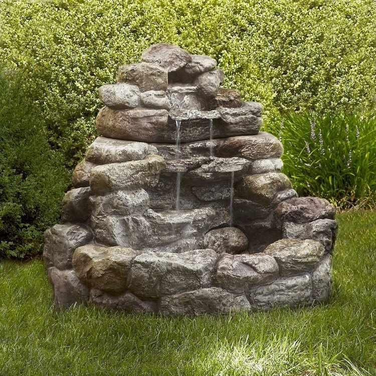 fuentes de agua para el jardin