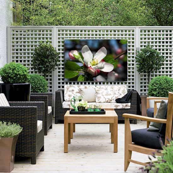 canvas para jardin