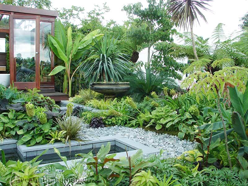 estilos de jardines