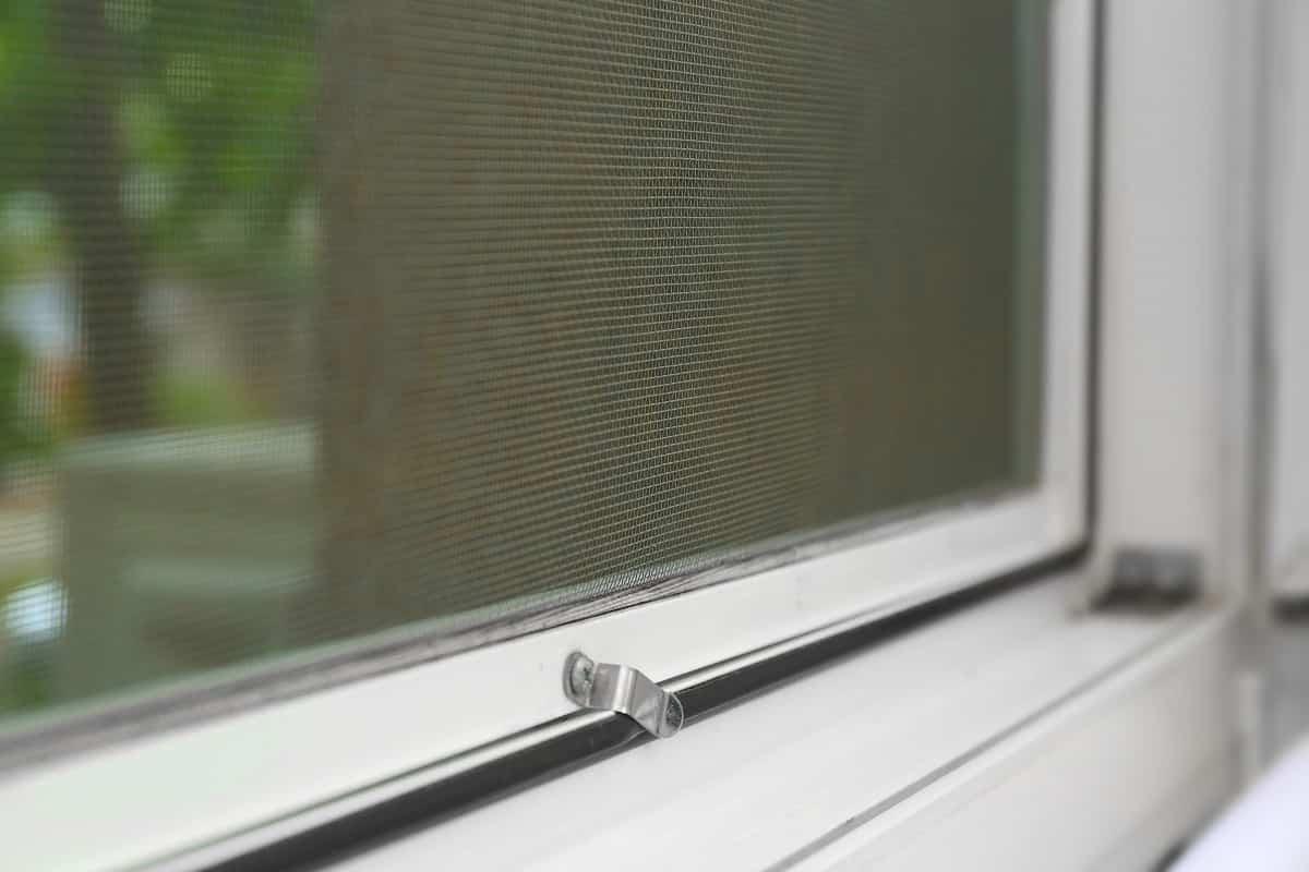ventana con mosquitera