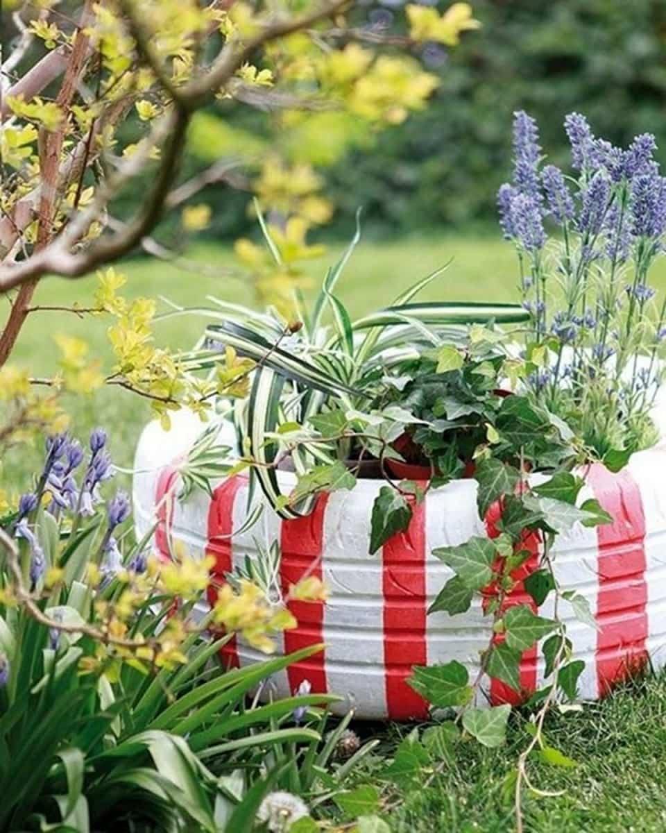 decorar el jardín fácilmente