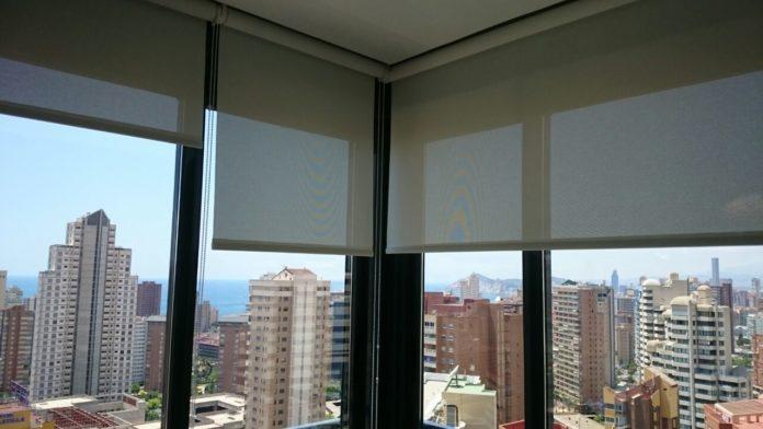 tipos de estores para ventanas