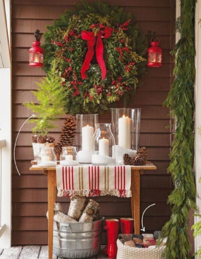 Ideas Para Decorar Una Terraza En Navidad Muy Bonita