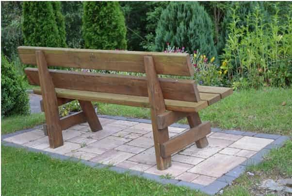 bancos para el jardin